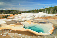 Heart Spring is a hot spring located in the Upper Geyser Basin in Yellowstone National Park, Wyoming