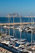 Marina port of Moraira,Alicante,Spain