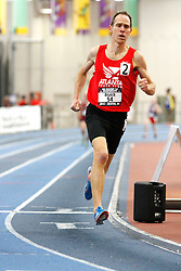 USATF Masters Indoor Championship, men's mile, 45-49 age-group race,