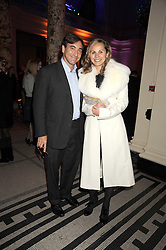 PHILIPPE BONNEFOY and YELANA DUNCAN at a reception to celebrate the opening of 'Magnificence Of The Tsars' the new exhibition at the V&A held on 9th December 2008.