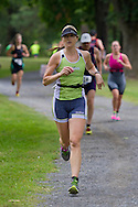 Monroe, New York - People compete in the third annual Southern Orange Family YMCA Tri/Duathlon & Run/Walk on Aug. 2, 2014.