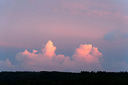 clouds at sunset France