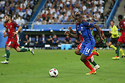 France Midfielder Blaise Matuidi during the Euro 2016 final between Portugal and France at Stade de France, Saint-Denis, Paris, France on 10 July 2016. Photo by Phil Duncan.