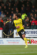 Burton Albion midfielder Marcus Harness (16) during the EFL Sky Bet League 1 match between Burton Albion and Luton Town at the Pirelli Stadium, Burton upon Trent, England on 27 April 2019.