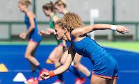 RIO DE JANEIRO (Brazilie) - De dames  van Oranje trainen vanmorgen in het Olympische hockeystadion . Midden Maria Verschoor.  COPYRIGHT KOEN SUYK