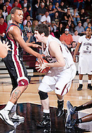 February 12, 2011: The Southern Nazarene University Crimson Storm play against the Oklahoma Christian University Eagles at the Eagles Nest on the campus of Oklahoma Christian University.