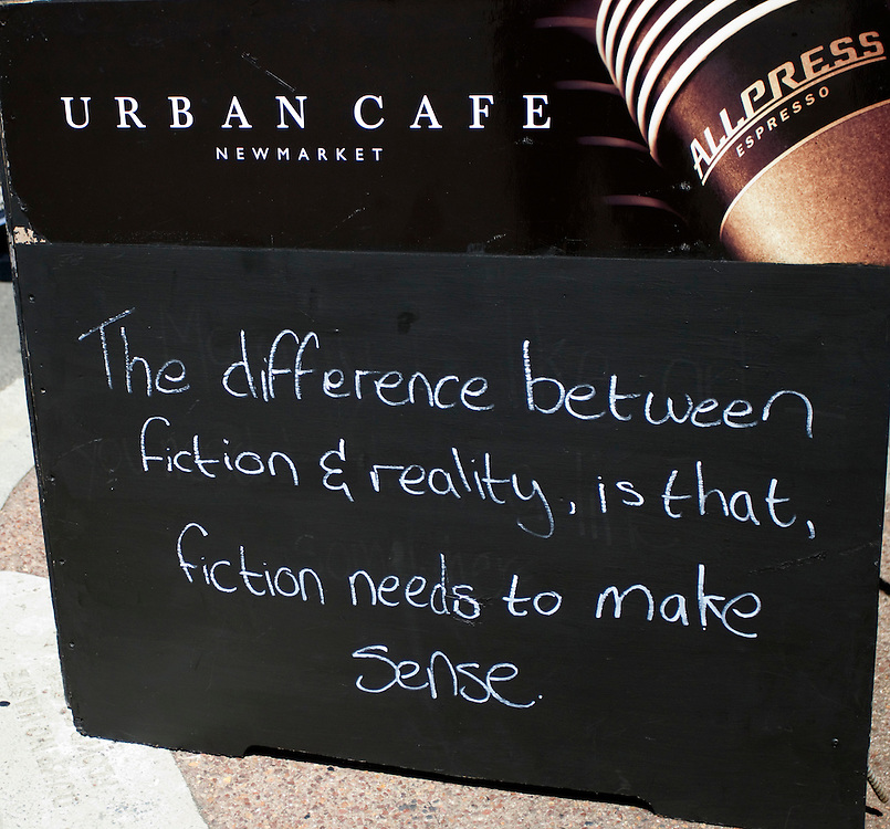 The sign outside the cafe where Prime Minister and National Party Leader John Key met ACT candidate for Epsom, John Banks, for a cup of tea, Newmarket, Auckland, New Zealand, Friday, November 11, 2011.  Credit:SNPA / David Rowland