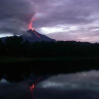 Volcano of fire