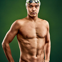 Brendan Van Herk of the 2019 Regina Cougars Swim team.