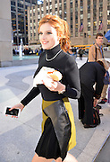 Dec. 15, 2015 - New York City, NY, USA - <br /> <br /> Actress Bella Thorne takes a moment out of her busy schedule to grab a hotdog outside Radio City <br /> ©Exclusivepix Media