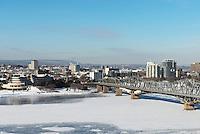 View Of Gatineau and Alexandra Bridge from Parliament Hill, Ottawa