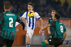 15.12.2013, Anoeta Stadium, San Sebastian, ESP, Primera Division, Real Sociedad vs Real Betis, 16. Runde, im Bild Real Sociedad's Ruben Pardo // Real Sociedad's Ruben Pardo during the Spanish Primera Division 16th round match between Real Sociedad and Real Betis at the Anoeta Stadium in San Sebastian, Spain on 2013/12/15. EXPA Pictures © 2013, PhotoCredit: EXPA/ Alterphotos/ Mikel<br /> <br /> *****ATTENTION - OUT of ESP, SUI*****