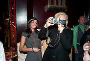 CATHERINE VANAZZI; AMANDA ELIASCH Lauren Goldstein Crowe hosts reception to thank those that particitated in the research for her book: Isabella, A Life in Fashion. The Fumoir. Claridge's. London. 8 November 2010. -DO NOT ARCHIVE-© Copyright Photograph by Dafydd Jones. 248 Clapham Rd. London SW9 0PZ. Tel 0207 820 0771. www.dafjones.com.