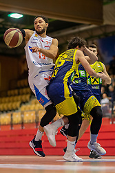 07.03.2019, SPH Walfersam, Kapfenberg, AUT, Admiral BBL, Kapfenberg Bulls vs UBSC Raiffeisen Graz, 26. Runde, im Bild Marck Coffin (Kapfenberg Bulls) // during the Admiral Basketball league, 26th round match between Kapfenberg Bulls and UBSC Raiffeisen Graz at the SPH Walfersam in Kapfenberg, Austria on 2019/03/07. EXPA Pictures © 2019, PhotoCredit: EXPA/ Dominik Angerer