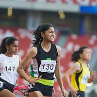 A Div Girls 100m