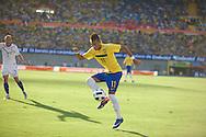 Goiania, Brazil - June 04, 2011 : Neymar during the friendly game Brazil X Netherlands   (Photo:Caio Guatelli)