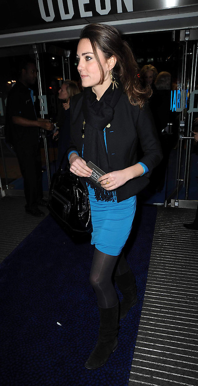 KATE MIDDLETON at the premier of Tenacity on the Tasman at the Odeon Leicester Square, London on 19th November 2009.