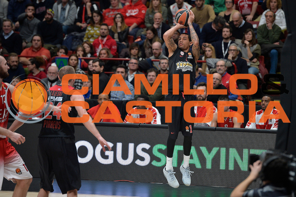 Green Erick<br /> EA7 Emporio Armani Olimpia Milano - Olympiacos Piraeus<br /> Euroleague 2016/2017<br /> Milano 25/01/2017<br /> Foto Ciamillo-Castoria