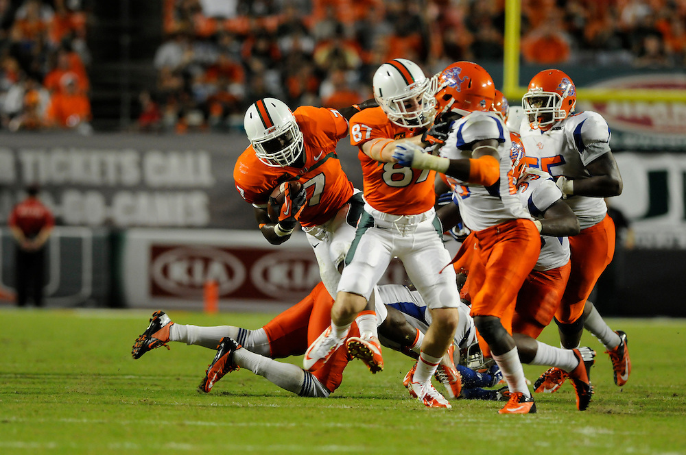 2013 Miami Hurricanes Football vs Savannah State
