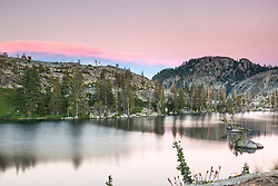 """Paradise Lake Sunset 7"" - Photograph of Paradise Lake, shot at sunset."