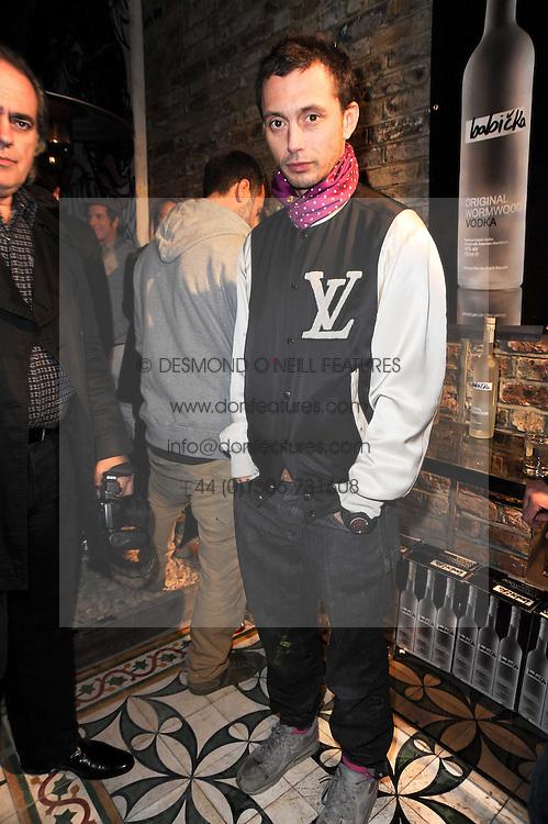 VISCOUNT MACMILLAN at the opening of Jade Jagger's shop at 43 All Saints Road, London W11 on 25th November 2009.