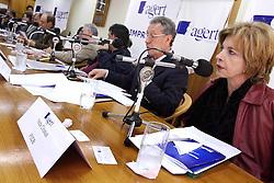 A candidata ao governo do Estado do RS, Yeda Crusius, durante o debate da AGERT - Associação Gaúcha de Emissoras de Rádio e Televisão. FOTO: Jefferson Bernardes/Preview.com