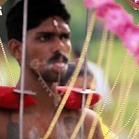 Annual Indian cultural celebration, Thaipusam, Little India