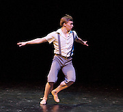 Emerging Dancer 2012 <br /> English National Ballet <br /> at the Queen Elizabeth Hall, Southbank, London, Great Britain <br /> 5th March 2012<br /> <br /> Anton Lukovkin <br /> <br /> Photograph by Elliott Franks
