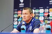 KIELCE, POLEN 2017-06-15<br /> Aidy Boothroyd under Englands U21 landslags press konferens p&aring; Kielce Arena den 15 juni 2017.<br /> Foto: Nils Petter Nilsson/Ombrello<br /> Fri anv&auml;ndning f&ouml;r kunder som k&ouml;pt U21-paketet.<br /> Annars Betalbild.<br /> ***BETALBILD***