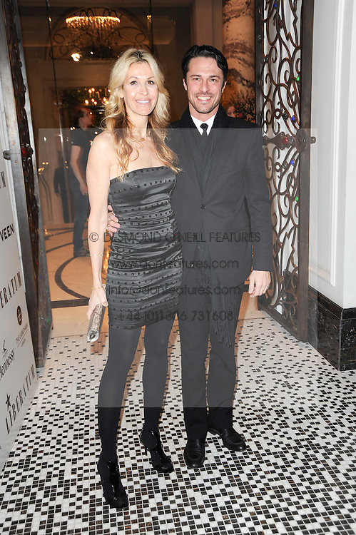 MELISSA ODABASH and  at the Liberatum Dinner hosted by Ella Krasner and Pablo Ganguli in honour of Sir V S Naipaul at The Landau at The Langham, Portland Place, London on 23rd November 2010.