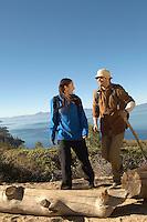 Couple on a Hike
