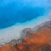 Yellowstone Lake Thermal Pool Edge - Yellowstone National Park