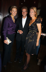 Left to right, DAVINA BARBER she was Davina Duckworth-Chad and BEN & MARINA FOGLE at The Christmas Cracker - an evening i aid of the Starlight Children's Charity held at Frankies, Knightsbridge on 13th December 2006.<br /><br />NON EXCLUSIVE - WORLD RIGHTS