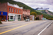 Main Street, Rico, Colorado USA