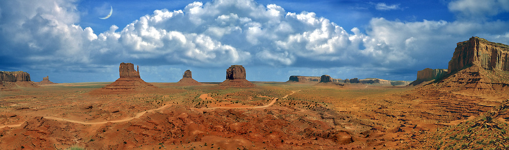 Monument Valley, Navajo Tribal Park, National Park, Arizona/Utah CGI Backgrounds, ,Beautiful Background