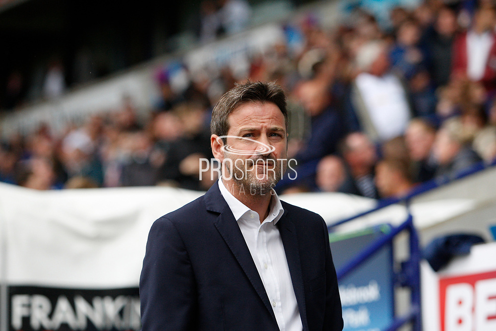 Leeds United Manager Thomas Christiansen during the EFL Sky Bet Championship match between Bolton Wanderers and Leeds United at the Macron Stadium, Bolton, England on 6 August 2017. Photo by Craig Galloway.