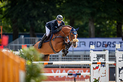 WULSCHNER Holger (GER), CASIRUS<br /> Münster - Turnier der Sieger 2019<br /> Preis des EINRICHTUNGSHAUS OSTERMANN, WITTEN<br /> CSI4* - Int. Jumping competition  (1.45 m) - <br /> 1. Qualifikation Mittlere Tour<br /> Medium Tour<br /> 02. August 2019<br /> © www.sportfotos-lafrentz.de/Stefan Lafrentz