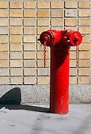 Red Fire Hydrant and his shadow
