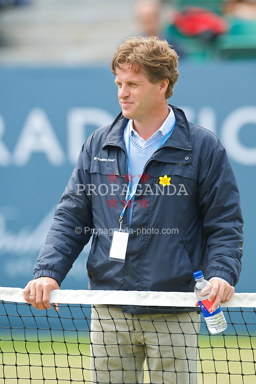 LIVERPOOL, ENGLAND - Sunday, June 21, 2009: Tournament Director Anders Borg during Day Five of the Tradition ICAP Liverpool International Tennis Tournament 2009 at Calderstones Park. (Pic by David Rawcliffe/Propaganda)