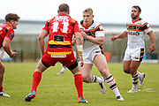 Bradford Bulls prop Mikolaj Oledzki (31) in action  during the Kingstone Press Championship match between Dewsbury Rams and Bradford Bulls at the Tetley's Stadium, Dewsbury, United Kingdom on 10 September 2017. Photo by Simon Davies.