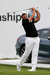September 8, 2018 - Newtown Square, Pennsylvania, United States - Byeong Hun An tees off the 17th hole during the third round of the 2018 BMW Championship. (Credit Image: © Debby Wong/ZUMA Wire)