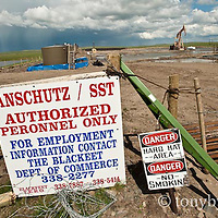pumpjack do not enter sign blackfeet reservation conservation photography - blackfeet oil