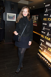 LOU HAYTER at the Al Films and Warner Music Screening of Kill Your Friends held at the Curzon Soho Cinema, 99 Shaftesbury Avenue, London on 27th October 2015.
