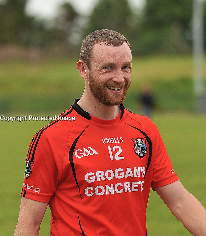 Ballyhaunis's Keith Higgins after their win over Tourmakeady in the Mayo  Intermediate Championship on sunday.<br /> Pic Conor McKeown