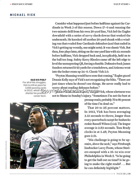 Sports Illustrated - Michael Vick
