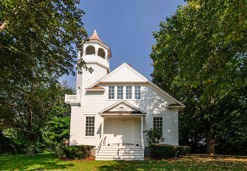 The Wainscott Chapel was established on Main Street, Wainscott, NY in 1908. Community Center, South Fork,  Long Island, New York
