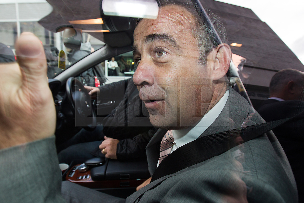 © Licensed to London News Pictures . 10/09/2013 . Manchester , UK . MICHAEL LE VELL (aka Michael Turner ) gives a thumbs up from his car outside Manchester Crown Court this afternoon (Tuesday 10th September 2013) after being cleared of all charges . The actor , who plays mechanic Kevin Webster in Coronation Street , was charged with a series of offences including rape , sexual activity with a child and indecent assault . Photo credit : Joel Goodman/LNP