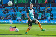 Max Clark of Hull City warms up prior to the Sky Bet Championship match at Villa Park, Birmingham<br /> Picture by Matt Wilkinson/Focus Images Ltd 07814 960751<br /> 05/08/2017