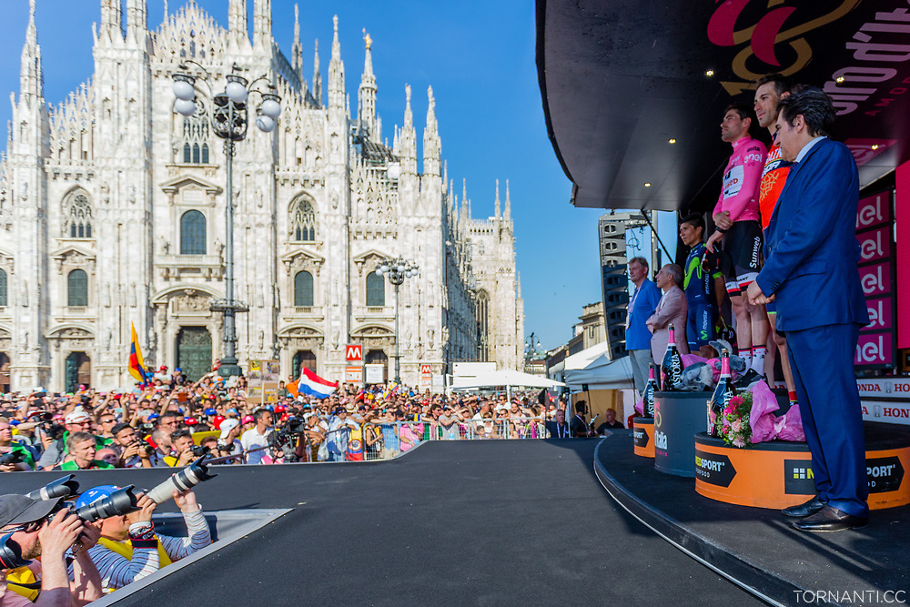 Giro D'Italia 2017 stage 21 (Monza - Milano / ITT / 29,3km) - Last stage<br /> <br /> Piazza del Duomo, Milano<br /> <br /> Photo: Tornanti.cc