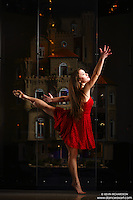 Dance As Art New York City Photography Project Astolat Castle Series with dancer, Ashtyn Muzio